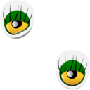 Monster Eye Sticker 1