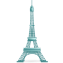 download Eiffel Tower clipart image with 135 hue color