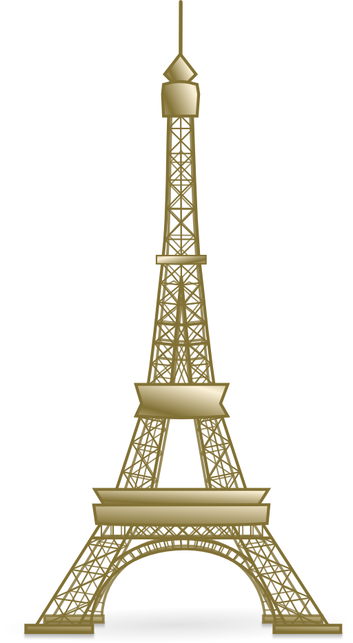 Cartoon Eiffel Tower Png Clipart Images Free Download Pngguru