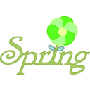 download Spring Rooted In English clipart image with 45 hue color