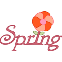 download Spring Rooted In English clipart image with 315 hue color