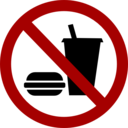 No Food Drink