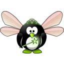 download Fairy Penguin clipart image with 45 hue color