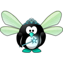 download Fairy Penguin clipart image with 135 hue color
