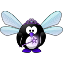 download Fairy Penguin clipart image with 225 hue color