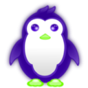 download Small Penguin clipart image with 45 hue color