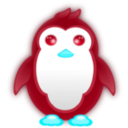 download Small Penguin clipart image with 135 hue color