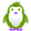 download Small Penguin clipart image with 225 hue color