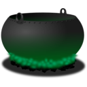 download Cauldron clipart image with 135 hue color