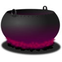 download Cauldron clipart image with 315 hue color
