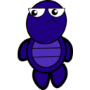 download Turtle clipart image with 135 hue color