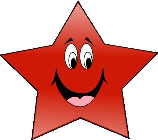 Estrela Do Pt Sorindo Clipart | i2Clipart - Royalty Free ...
