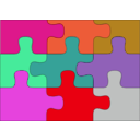download Puzzle clipart image with 315 hue color