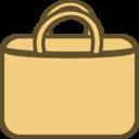 Simple Shopping Bag Logo Icon