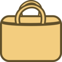 Simple Shopping Bag Logo Icon