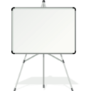 download White Board clipart image with 45 hue color