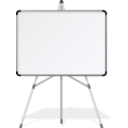 download White Board clipart image with 225 hue color