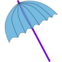 download Umbrella Parasol Pink Tranparent clipart image with 225 hue color