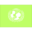 download Logo Unicef clipart image with 225 hue color