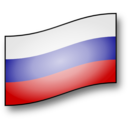 Clickable Russia Flag