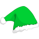 download Santa Hat clipart image with 135 hue color
