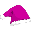 download Santa Hat clipart image with 315 hue color