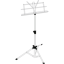 download Music Stand clipart image with 225 hue color