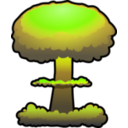 download Nuclear Explosion clipart image with 45 hue color