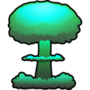 download Nuclear Explosion clipart image with 135 hue color