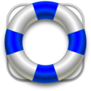 download Lifesaver clipart image with 225 hue color
