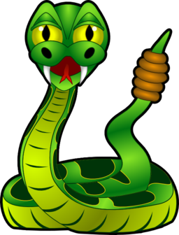 Cartoon rattlesnake clipart i2clipart royalty free public domain