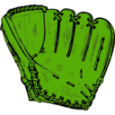 download Baseball Glove clipart image with 45 hue color