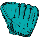 download Baseball Glove clipart image with 135 hue color