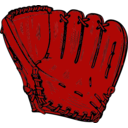 download Baseball Glove clipart image with 315 hue color