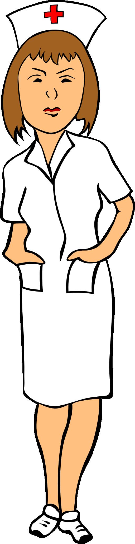 Nursing Tools Clipart Woman nurse clipart
