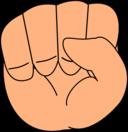 Closed Chibi Hand