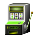 download Slot Machine clipart image with 45 hue color