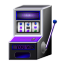 download Slot Machine clipart image with 225 hue color