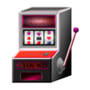 download Slot Machine clipart image with 315 hue color