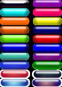 Glossy Pill Buttons