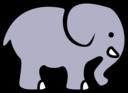 2d Cartoon Elephant