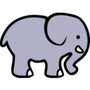 2d Cartoon Elephant