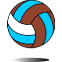download Volleyball clipart image with 135 hue color