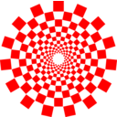 Optical Illusion Spiral