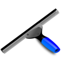 Blue Squeegee