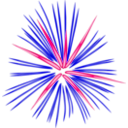download Pink Fireworks clipart image with 270 hue color