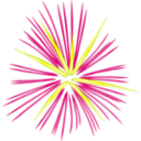 download Pink Fireworks clipart image with 0 hue color