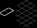 Pattern Diamond Inverted