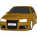 download Vw Golf3 Tuned clipart image with 45 hue color