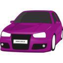 download Vw Golf3 Tuned clipart image with 315 hue color